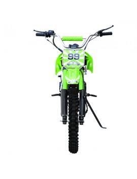 "Cuatrimoto Moto ATV 150cc Aro 10"" Negra"