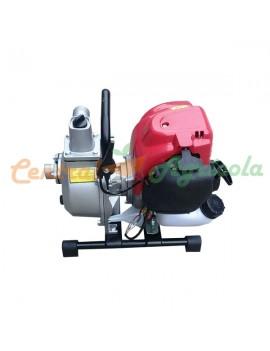 Motocultivador Gasolina 6.5 hp Aro 10 Eje Ancho